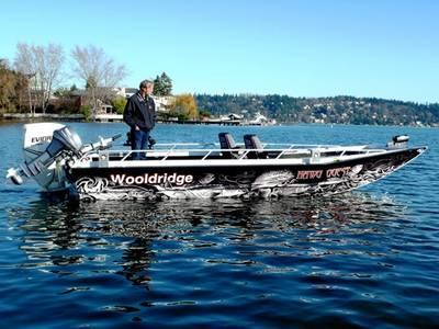 2019 Wooldridge Boats Alaskan XL 20' Tiller   Boat Shop, Inc